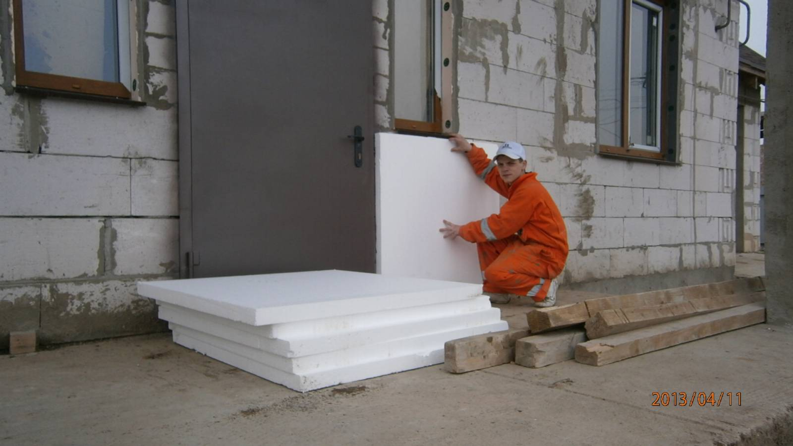 Пенополистирол технология утепления фасада своими руками 10